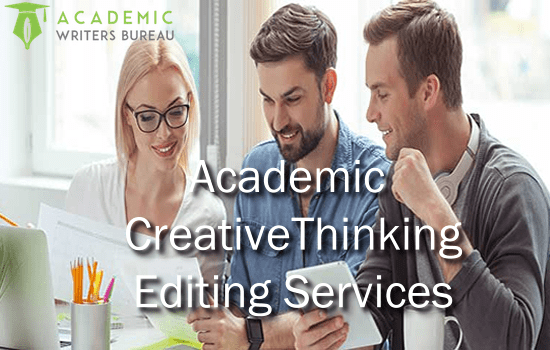 Custom Creative Thinking Editing Services