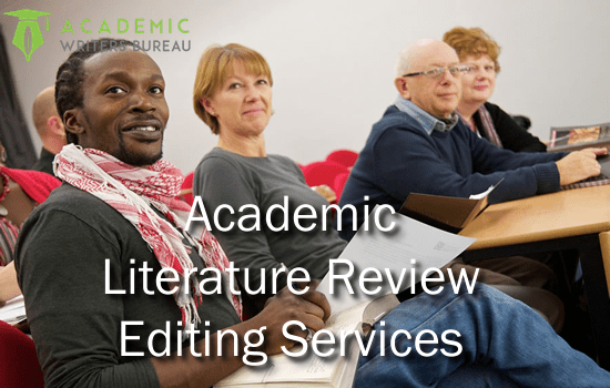 Custom Literature Review Editing Services