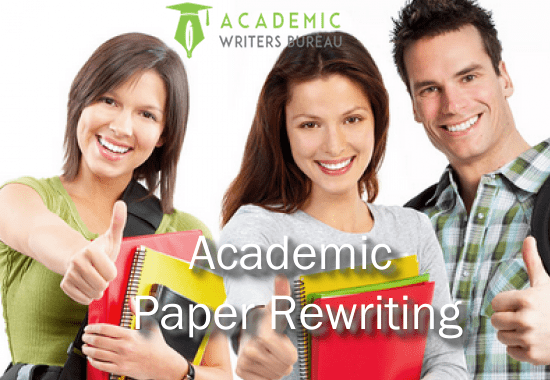 Custom Paper Rewriting Services