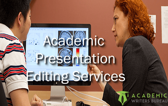 Custom Academic Presentation Editing Services