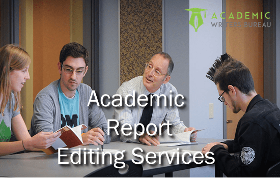 Custom Academic Report Editing Services