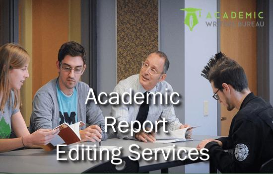 Услуги по редактированию пользовательских академических отчетов