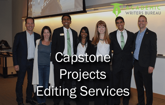 Egendefinerte Capstone Projects Editing Services