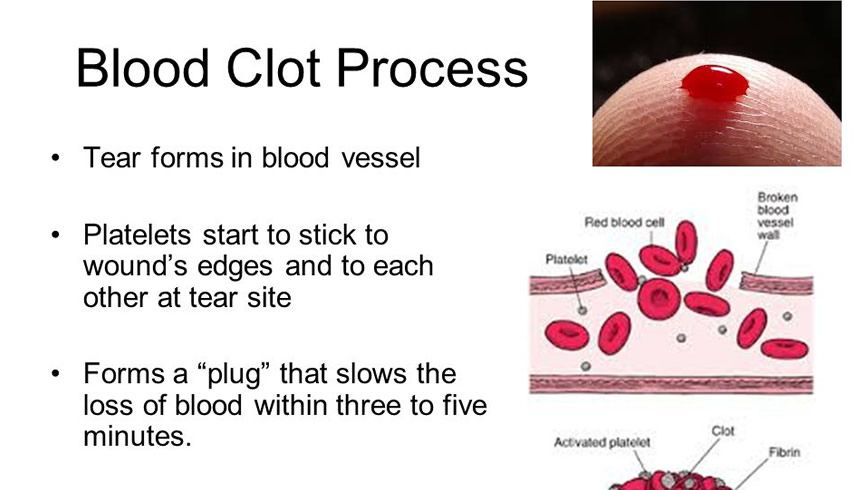 WHAT IS THE PROCESS OF BLOOD CLOTTING