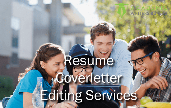 Custom Resume Cover Letter Editing Services