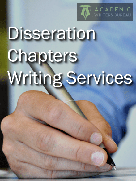 Dissertation Chapters Writing Services