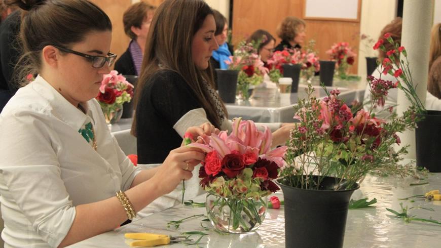 Hvordan arrangere blomster