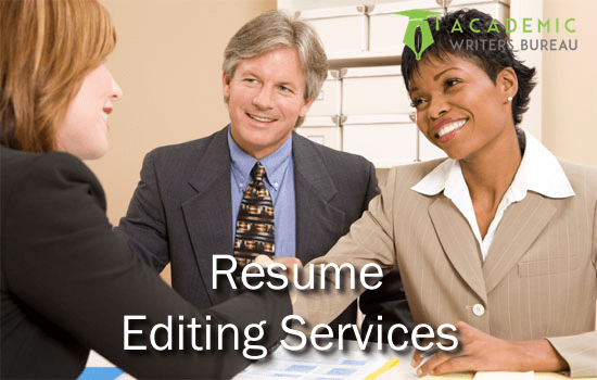 custom resume editing services - Resume Editing Services