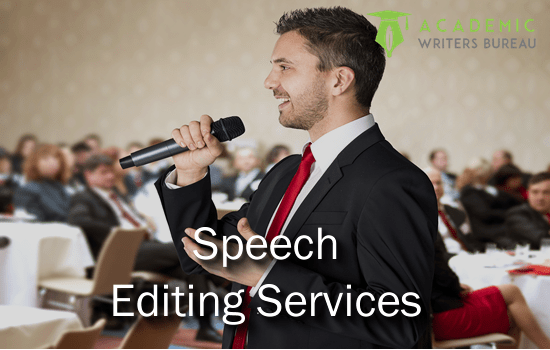 Custom speeches online